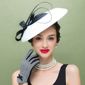 Womens Kentucky Derby Fascinator Wedding Church Hat Headband Headpiece T427