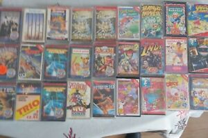 Commodore 64 games bundle untested 32 games and carry case