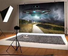 10x8ft Photo Background Ufo Night Scene Space Photography Props Backdrop Studio