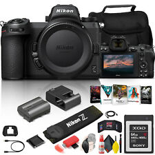 Nikon Z 7II Mirrorless Digital Camera 45.7MP (Body Only) + More Bundle