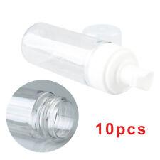 10x 50ml Beauty Travel Shampoo Lotion Foam Plastic Pressed Pump Spray Bottle UK