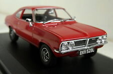 Oxford Diecast 1/43 Scale Vauxhall Firenza 1800SL Flamenco Red Diecast model car