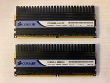 2x2GB DDR2 PC2-8500 1066MHz CM2X2048-8500C5D Black DIMM Desktop RAM For CORSAIR