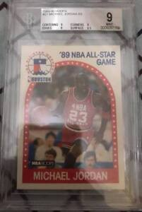 Michael Jordan 1989 BGS 9 HOOPS AS #21 (see description)