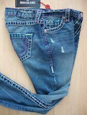 TRUE RELIGION AUDREY SLIM BOYFRIEND SUPER T Damen Jeans Gr.26 NEU mit ETIKETT