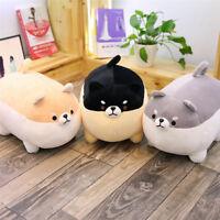 50cm Cute Fat Shiba Inu Dog Plush Toy Stuffed Soft Kawaii Animal Cartoon Pillow