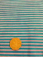100% cotton quilting craft Fabric Blue Purple Stripe Graphix paintbrush studios
