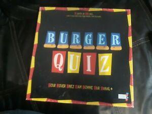 Jeu Burger Quiz Complet Bon État