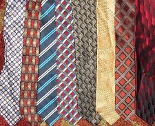 Adolfo, Siena Collezione etc. LOT 8 Men Italian Brand Neckties Silk NEW LOT 2449