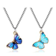 Fashion Butterfly Pendant Necklace Clavicle Choker Gold Chain Women Sory UK!