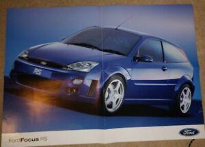 FORD FOCUS TDCI ORIG UK 2001 Marketing sales brochure