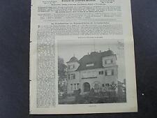 1909 Baugewerkszeitung 75 / Iserlohn Haus Ostermann