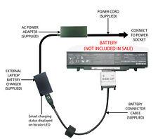 External Laptop Battery Charger for Samsung 550P4C NP550P5C NP550P7C, AA-PB9NC6B
