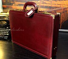 GUCCI Slim Cordovan Italy Leather CEO Hardcase Briefcase Bag Hard Case Mens