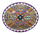 #101) MEDIUM 17x14 MEXICAN BATHROOM SINK CERAMIC DROP IN UNDERMOUNT BASIN