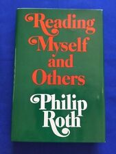 READING MYSELF AND OTHERS - FIRST EDITION BY PHILIP ROTH