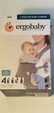 Ergo Ergobaby 360 Four Position Breathable Carrier Dewy Grey New in Box