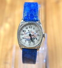 Rare Early Elgin Raymond H.Bubb Manual Wind White Gold Filled Art Deco Watch