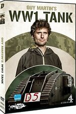 GUY MARTIN'S 'WWI Tank' (2017): World War 1 WW1 Tank Replica Build R2 DVD not US
