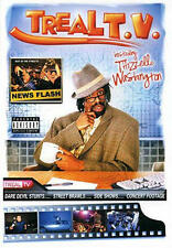 Mac Dre - Treal T.V.  COLOR POSTER NEW + temporary tattoo, Bay Area Thizz legend
