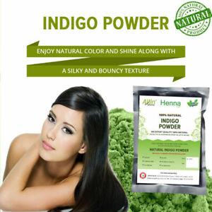 NATURAL INDIGO POWDER - 100% ORGANIC AND NATURAL WAY OF COLORING HAIR