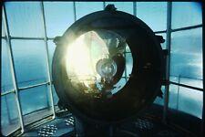 Photo slide Point Sur lighthouse Coast Shore California Beach Lamp Bulb Inside