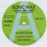 Tony Hester  Im Gonna Love You Sonic Wax 020 Demo Soul Northern Motown