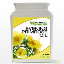 Evening Primrose Oil Capsules 1000mg 50 Soft Gels HIGH Strength