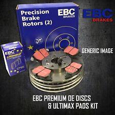 EBC 256mm FRONT BRAKE DISCS + PADS KIT SET BRAKING KIT SET OE QUALITY PDKF1875