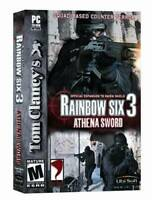 Tom Clancy's Rainbow Six 3: Athena Sword - PC - Video Game - VERY GOOD