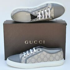 GUCCI New sz 42 G - 12.5 Authentic Womens Designer Guccissima GG Shoes Sneakers