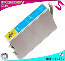INCHIOSTRO CIANO T1632 T16XL COMPATIBILE PER STAMPANTI ICT EPSON CARTUCCIA BLU