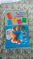 Vintage Fruit Magnetic Small Refrigerator Magnets  New In Pkg 7 pc Elpo