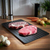 BLK Hot Kitchen Frozen Food Fast Defrosting Meat Tray Rapid Safety Thawing Tray