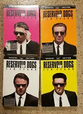 4 Dvd lot Reservoir Dogs Special 10 Years Edition (Mr. White, Orange & Pink New)