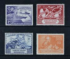 F. DEPENDENCIES, KGVI, 1949 UPU, set of four (4) stamps, MM condition, Cat £12.