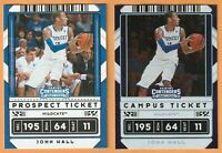 2020 Contenders Draft Picks John Wall Campus Ticket Foil #34 With Base Variation