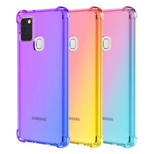 Case For Samsung Galaxy A52s A22 A02s A32 A21s A12 A52 Shockproof Silicone Cover