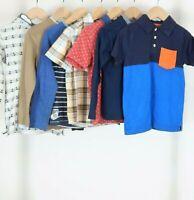 Boy's Spring Top Bundle 4-5 Years Mini Boden Zara H&M Short/Long Sleeve