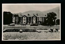 Cumbria PENRITH Glenridding Ullswater Hotel adapted advert  PPC c1940/50s?