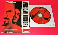 American History X (Excellent Condition Dvd Disc & Cover Art Only No Case)