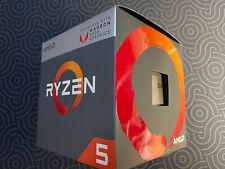 AMD Ryzen 5 2400G 3.9GHz Turbo 4 Core Processor w/ Box, Manual & Wraith Cooler