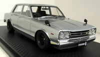 Ignition Model 1/18 Scale 0760 Nissan Skyline 2000 GT-R PGC10 Silver Resin car