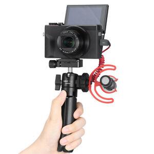 UURig U-Pod Tripod Stand Vlog Selfie Hand Grip Holder Handle + Cold Shoe Adapter