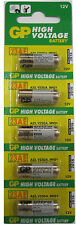 battery 12V  for remote controls (pack of 5)