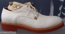 CESARE PACIOTTI 308 LEATHER US 8.5 LACED MENS OXFORDS ITALIAN DESIGNER SHOES