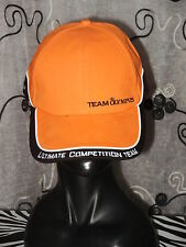 CHAPEAU BONNET COPPOLA CASQUETTE TEAM OLYMPUS ULTIMATE COMPETITION ÉQUIPE ORANGE