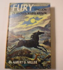 Fury, Stallion of Broken Wheel Ranch, Grosset & Dunlap, Picture Cover