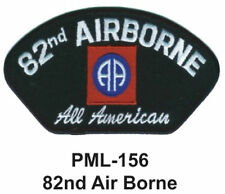"4"" -NEW 82ND AIR BORNE Embroidered Military Large Patch"