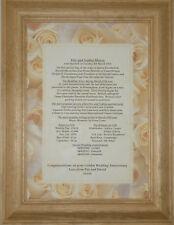 55th Emerald Personalised Wedding Anniversary Gift